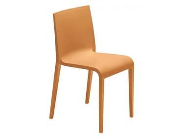 Plastic garden chair METALMOBIL - NASSAU 533 Ochre