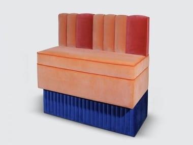 Velvet armchair NASSAU