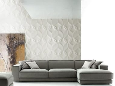 Modular indoor/outdoor 3D Wall Panel NASTRI