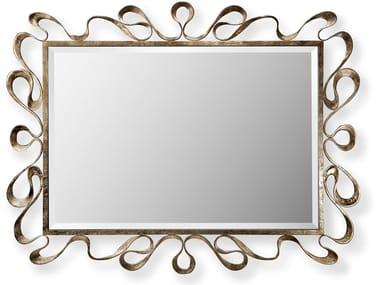 Rectangular wall-mounted mirror NASTRO | Mirror