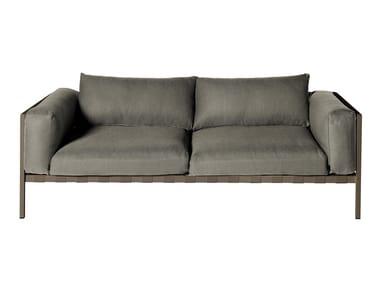 2 seater fabric sofa NATAL ALU SOFA | Sofa