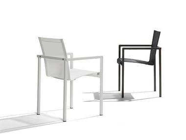 Garden chair with armrests NATAL ALU | Chair