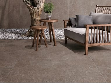 Porcelain stoneware wall/floor tiles with granite effect NATIVE