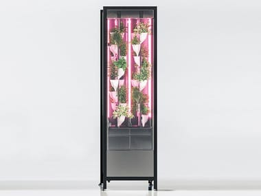 Hydroponic kitchen units