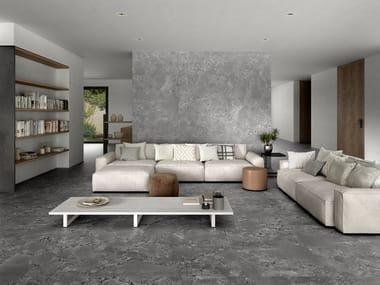Pavimento/rivestimento in gres porcellanato effetto pietra NATURA
