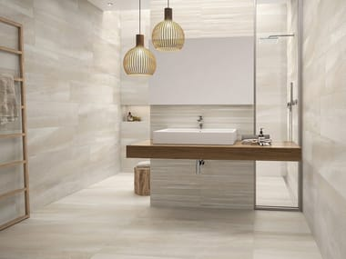 Porcelain stoneware wall/floor tiles with stone effect NATURAL BLEND