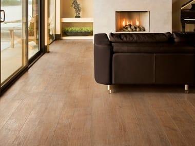 Pavimento/rivestimento in gres porcellanato effetto legno NATURE HONEY