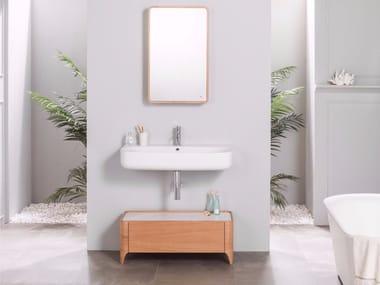 Storage floorstanding bathroom cabinet NATURE