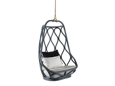 Rocking Swing rattan armchair NAUTICA | Swing armchair