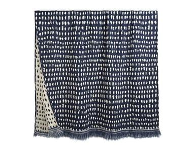 Fabric lap robe NAVY DOTS | Lap robe