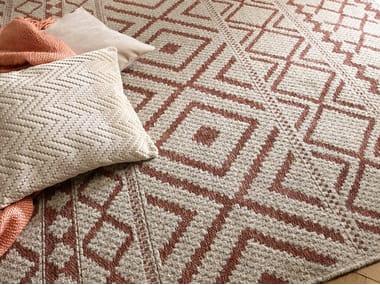 Rectangular rug with geometric shapes NAXOS   Rug