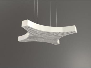 Hanging acoustical panel / pendant lamp NCA LINK4 D1000-1500-2000B | Pendant lamp