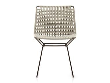 Sled base rope garden chair NEIL TWIST | Chair