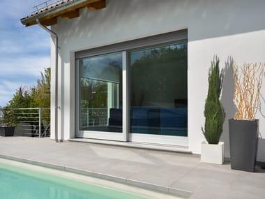 Aluminium and wood patio door NEMBO 2.0