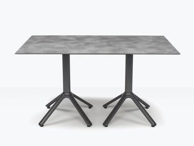Rectangular aluminium table for multiple alignment DOUBLE NEMO