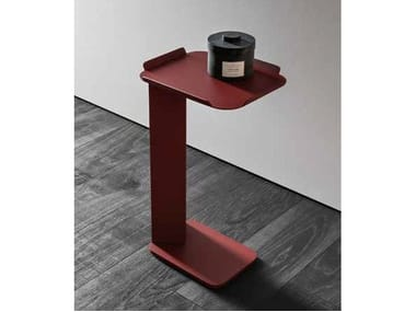 Lacquered metal side table NEROLAB | Coffee table
