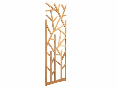 Teak garden partition NEST | Garden partition