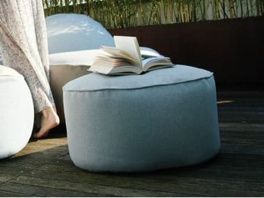 Fabric pouf with removable lining NEST | Garden pouf