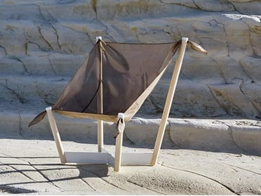 Garden technical fabric easy chair NETWOOD