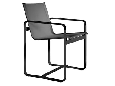Garden chair with armrests NEUTRA | Chair