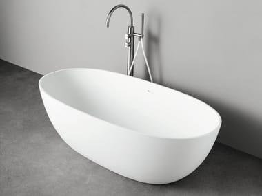 Oval Korakril™ bathtub NEUTRA