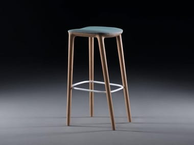 Barstool with footrest NEVA | Stool