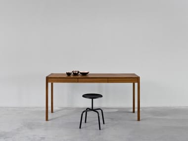 Rectangular writing desk with drawers NEW DESK