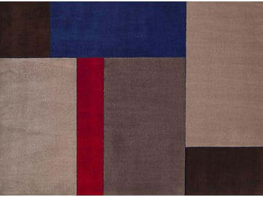 Handmade fabric rug NEW FEELINGS T1402S