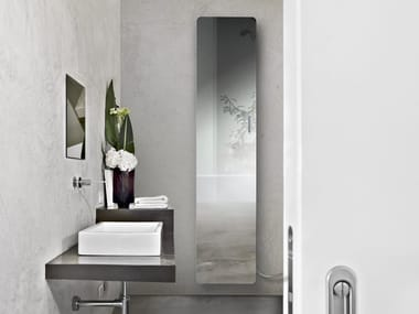 Electric mirrored panel radiator NEW IMAGE
