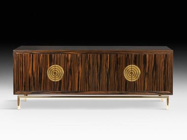 Ebony sideboard with doors NEW SECRET 2