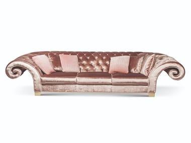 Tufted upholstered velvet sofa NEW VERSAILLES | Sofa