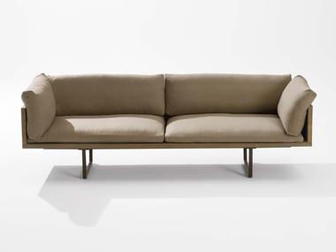 Sled base sofa NEW-WOOD PLAN | Sofa
