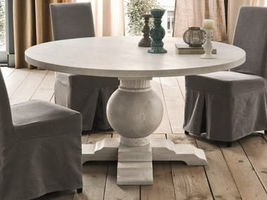 ALEX | Round table By B&B Italia design Antonio Citterio
