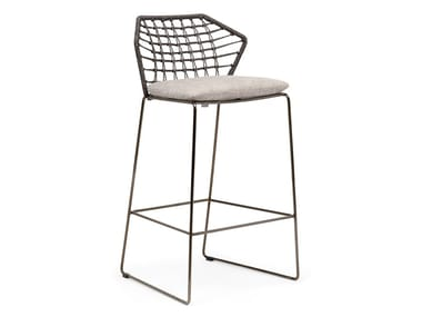 High garden stool NEW YORK SOLEIL | Garden stool