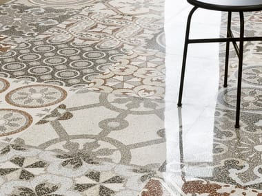 Porcelain stoneware wall/floor tiles terrazzo effect NEWDECÒ PATCHWORK