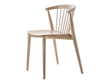 Stackable ash chair NEWOOD | Chair