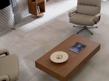 Indoor/outdoor porcelain stoneware flooring with stone effect NEWPORT | Porcelain stoneware flooring