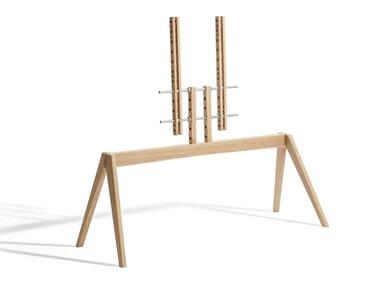 Floor mounted wooden stand NEXT OP2
