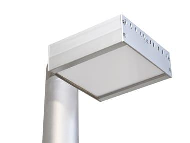 LED Anodized aluminium street lamp NIBBIO