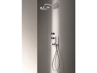 Thermostatic shower mixer with hand shower NICE | Shower mixer
