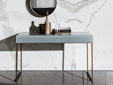 Rectangular glass console table NIDO | Console table