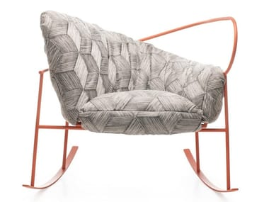 Rocking armchair NIDO