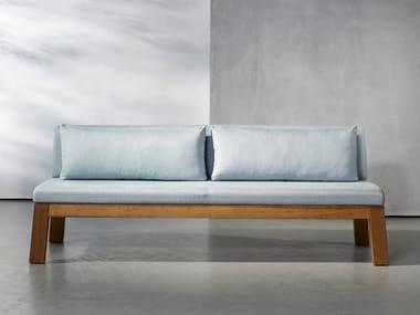 Wooden garden sofa NIEK | Garden sofa