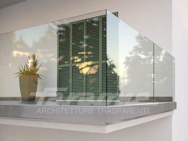 Glass Window railing NINFA 180