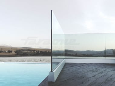 Glass balustrade NINFA 5