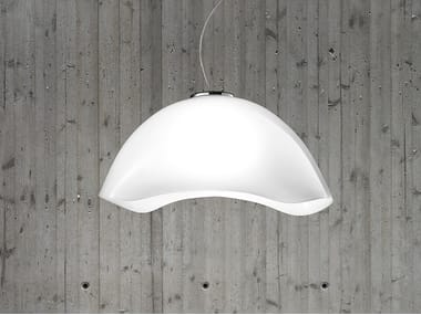 Murano glass pendant lamp NINFEA SP G