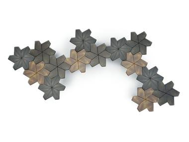 Modular metal coffee table NINFEA