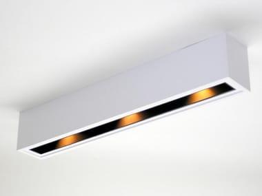 Lampada da soffitto a LED in alluminio verniciato a polvere NIS DOWN 60