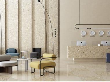 Pavimento/rivestimento in gres porcellanato per interni ed esterni NIZA