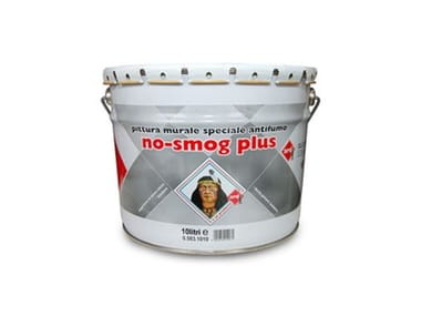 Pittura murale speciale antifumo NO-SMOG PLUS